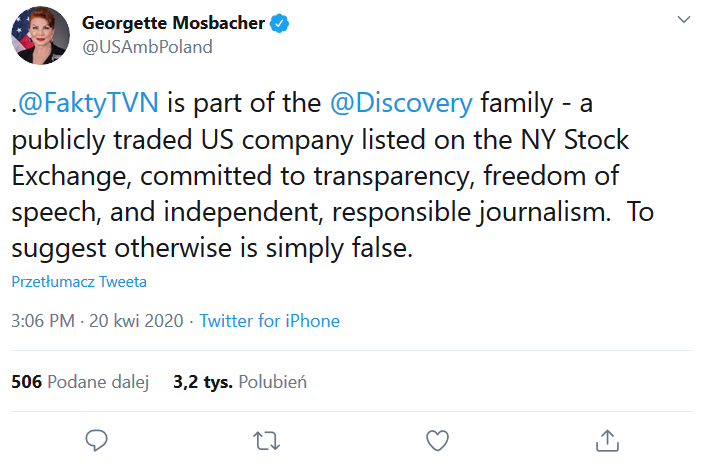 mosbacher tvn